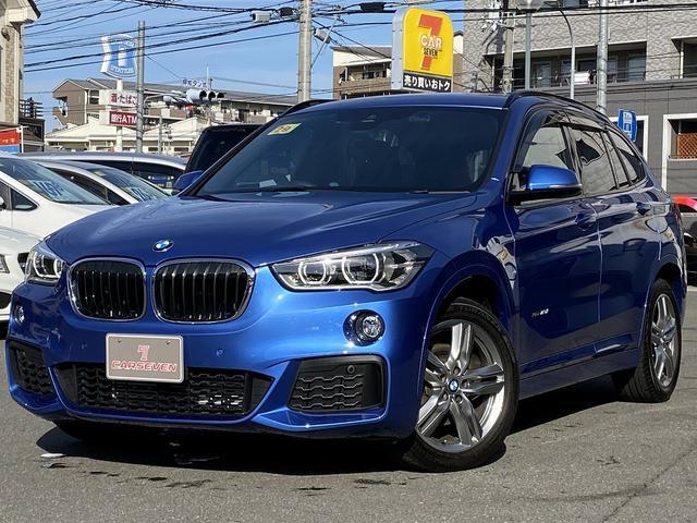 BMW X1 xDrive 18d Mスポーツ 4WD コンフォートパッケージ 禁煙車 電動リアゲート 純正iDriveナビ TV バックカメラ ETC クリアランスソナー インテリジェントセーフティ シートヒーター LEDライト ドラレコレーダー