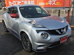 ジュークニスモ 4WD ターボ 後期 新車保証 純正ナビ 専用シート