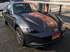ロードスターRFVS 新車保証継承 電動ハードトップ 純正ナビ 革シート