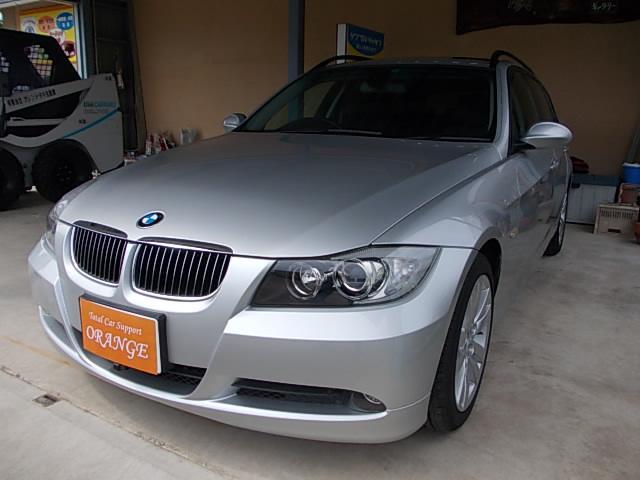 BMW 320iツーリング  社外ナビ・DVD・地デジ・HID
