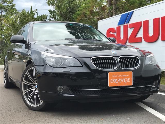 BMW 525iハイラインパッケージ 革シート ナビ 車検32.9