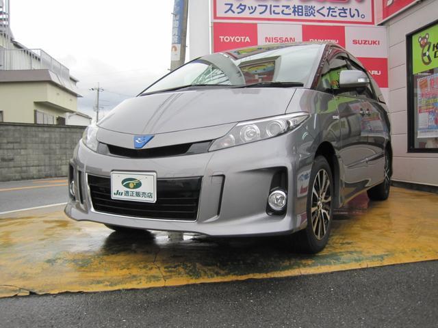 トヨタ アエラス プレミアムエディション 8型ナビ、11型リヤモニタ
