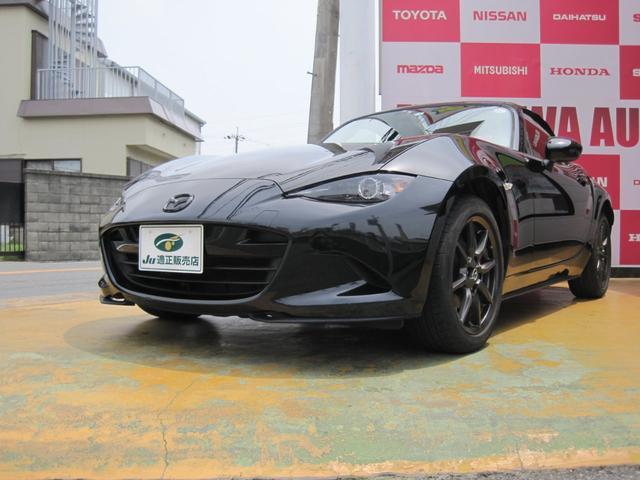 マツダ ロードスター S 6速MT 黒のロードスター ソフトトップ オープンカー