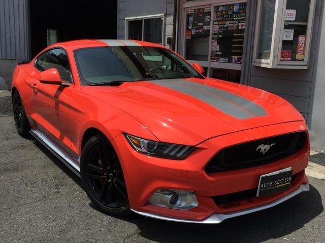 フォード 50イヤーズ エディション限定カラーコンペティションオレンジ