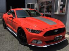 フォード マスタング50イヤーズ エディション限定カラーコンペティションオレンジ