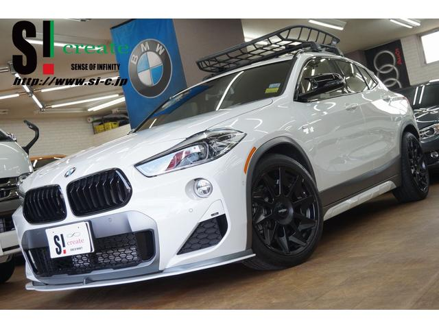 BMW X2 xDrive 20i MスポーツX モカレザー サンルーフ rotiform19AW THULEラック USマーカー アイバッハダウンサス シュニッツァーエアロ コーディング 1オーナー 禁煙