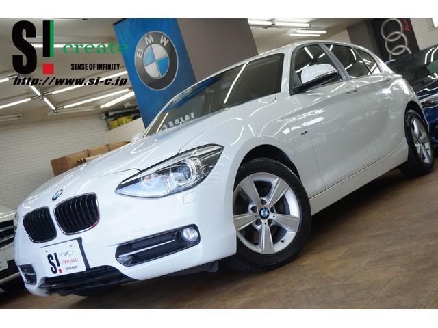 BMW 1シリーズ 116i スポーツ 純正HDDナビ フルセグTV バックカメラ ETC AUX 純正16インチアルミ
