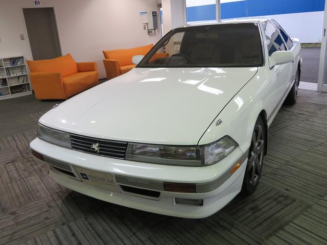 トヨタ ソアラ 2.0GT-ツインターボ ユーザー様直接仕入れ HKSマフラー 車高調 外17インチAW フロントスポイラー トランクスポイラー 車検R4年6月まで