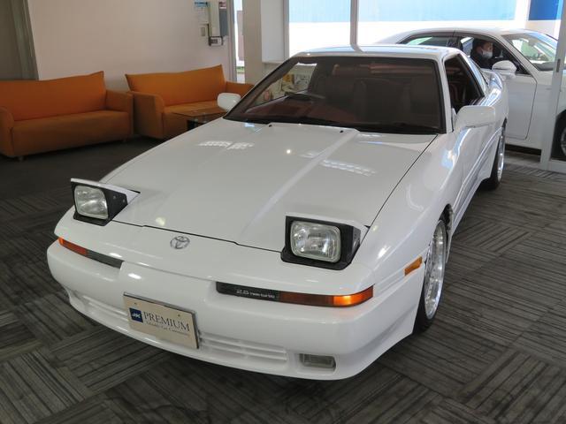 トヨタ 2.5GTツインターボリミテッド 最終モデル WORKエクイップ17インチAW クスコ車高調 外HDDナビ ETC レッドレザーシート D席パワーシート