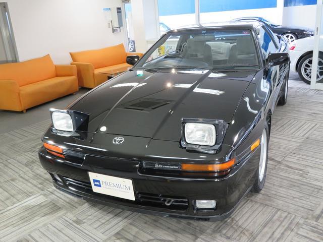 トヨタ 2.5GTツインターボ 1オーナー 1JZ-GTEターボエンジン フルノーマル車 純正16インチAW 運転席エアーバック付き 取説 新車保証書