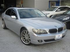 BMW740i 左ハンドル 純ナビ SR 黒革 外20AW ETC