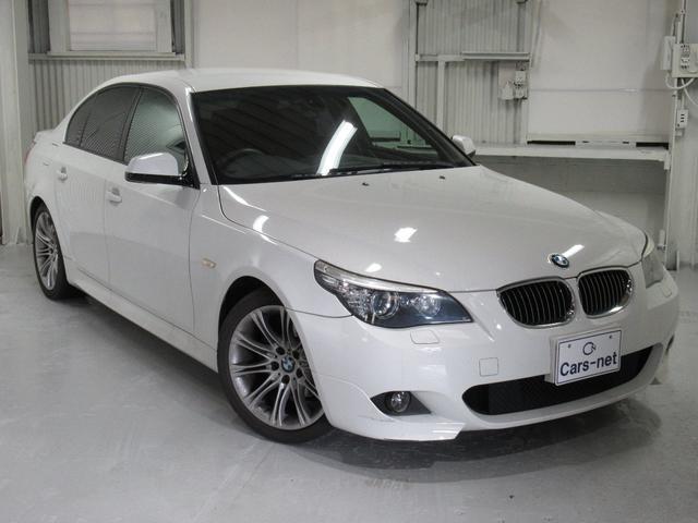 BMW 525i Mスポーツパッケージ /純正ナビ/ETC/プッシュスタート/スマートキー/ハーフレザーシート/禁煙車/自社買取車