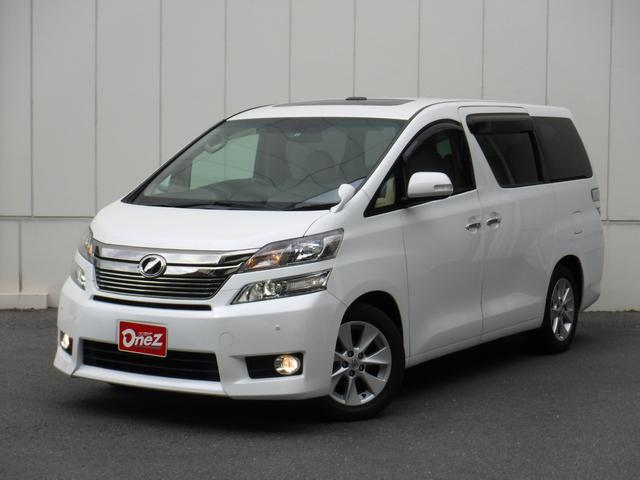 トヨタ 3.5V Lエディション Wサンルーフ 本革シート 両側電動