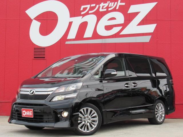 トヨタ 2.4Z ゴールデンアイズII 純正8インチナビ 両側電動