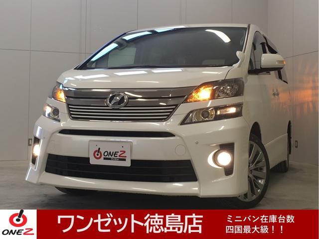 トヨタ 2.4ZゴールデンアイズII Wサンルーフ 純正9型ナビ