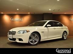 BMWアクティブハイブリッド5 Mスポーツ 正規D車 ブラウン本革