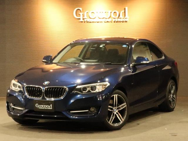 BMW 220iクーペSports 衝突回避 被害軽減ブレーキ ナビ