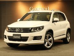 VW ティグアンTSI BMT R−lineパッケージ 1オナ禁煙 ナビTV