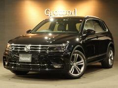 VW ティグアンTSI Rライン 1オナ 追突軽減  全方位カメラ ナビTV