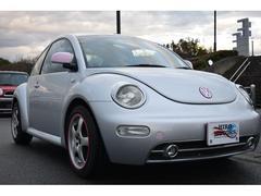 VW ニュービートルオリジナルカラー シルバーピンク 天井張り替え済み ナビ可