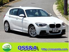 BMW116i Mスポーツフロントスポイラ−純正ナビ スマ−トキ−
