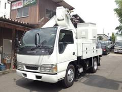 エルフトラック0.5tタダノ高所作業車9.9m電工仕様 バケット200Kg