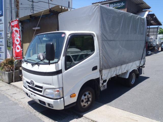 トヨタ 1.35t幌車 全低床 AT 普通免許OK