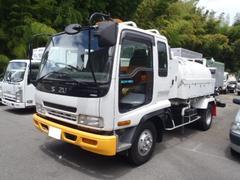 フォワード2.85t高圧洗浄車 PTO式 いすゞアチューマット
