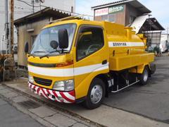 デュトロ1.8t高圧洗浄車PTO式兼松モービルジェット サブリール付