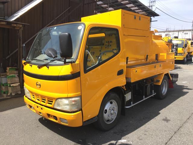 日野 1.8t高圧洗浄車PTO式 1800L 兼松モービルジェット