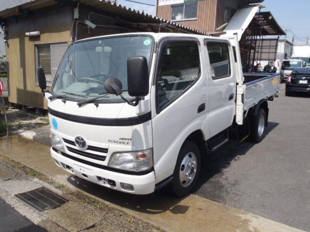 トヨタ 2t標準セミロングWキャブ 4WD 6人乗