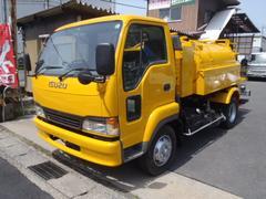 フォワードジャストン2.75t高圧洗浄車PTO式 いすゞアチューマット2750L