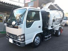 エルフトラック2.7tバキュームダンパー 加藤製作所製 風量18m3