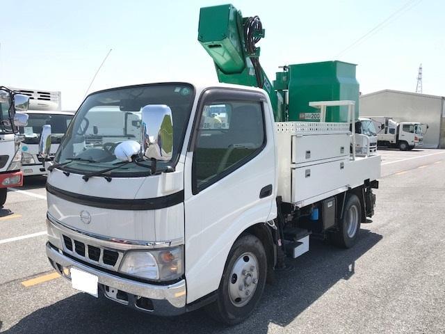 日野 0.5t高所作業車9.7m アイチ製SK10B