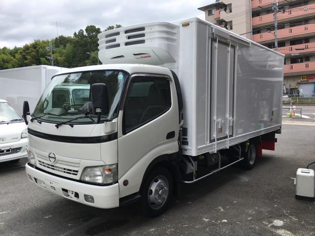日野 3tワイドロング冷凍車2室式三菱-30℃仕上済関東大阪乗入可