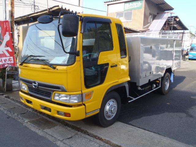 日野 レンジャー 2.2t高圧洗浄車PTO式 東急ジェットフラッシャー