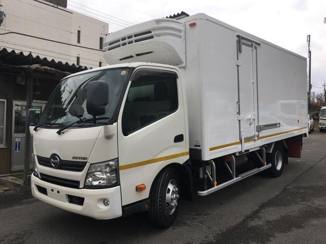 日野 3.9tワイド超ロング冷凍車 三菱-30℃ 両サイドドア