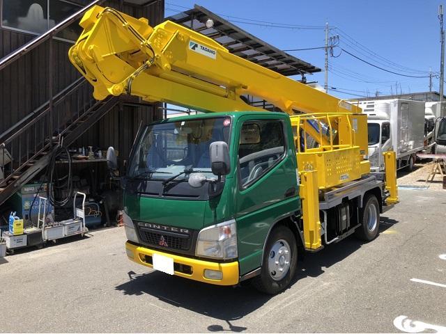 三菱ふそう キャンター 15.7m高所作業車 折曲ブーム タダノAT-157CG
