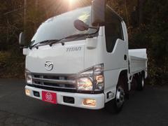 タイタントラックパワーゲート付き平ボディ 全低床 新明和600キロ型 ターボ