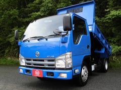 アトラストラック全低床強化ダンプ 2トン積4No 荷台塗装仕上済 Dターボ