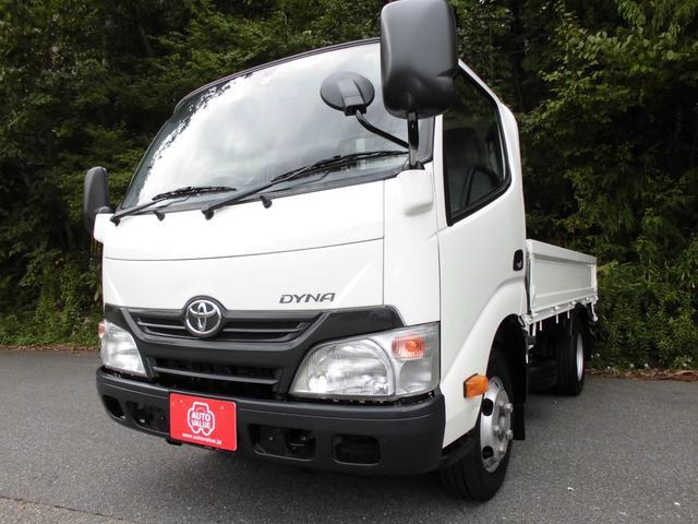 トヨタ フルジャストロー 2トン積み4ナンバー 純正ナビTV ETC