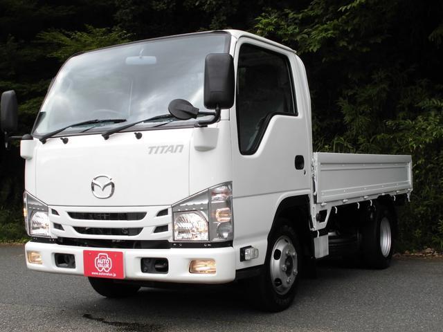 マツダ タイタントラック フルワイドロー 社外SDナビ バックモニター ETC キーレス 2トン積み4ナンバー 荷台塗装仕上済み Dターボ 左電格ミラー