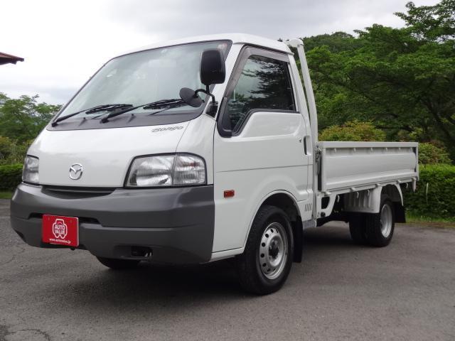 マツダ ボンゴトラック DX ワンオーナー 5速MT リヤWタイヤ 850kg積載 荷台塗装済み
