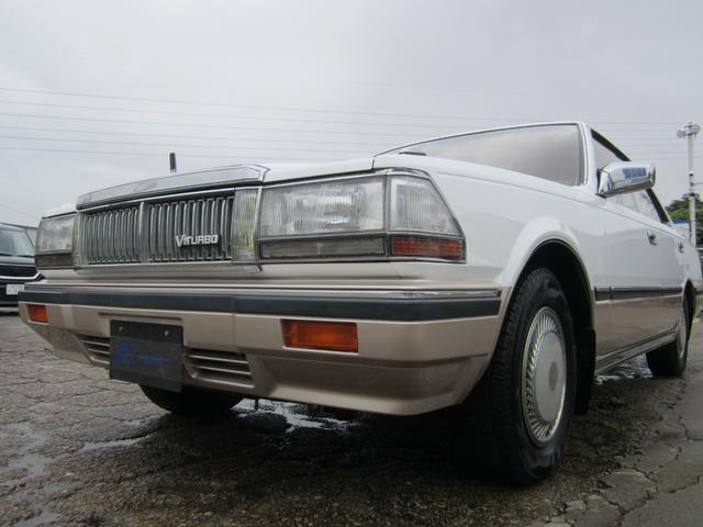 日産 セドリック ブロアム ターボ Y30後期モデル V6ジェットターボ 4ドアハードトップ 全塗装仕上げ済み