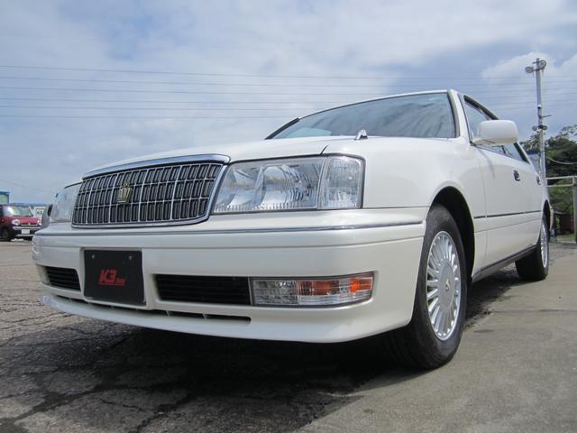 クラウン(トヨタ) ロイヤルサルーン 社外ナビ フルセグTV ノーマル車 純正アルミ 中古車画像