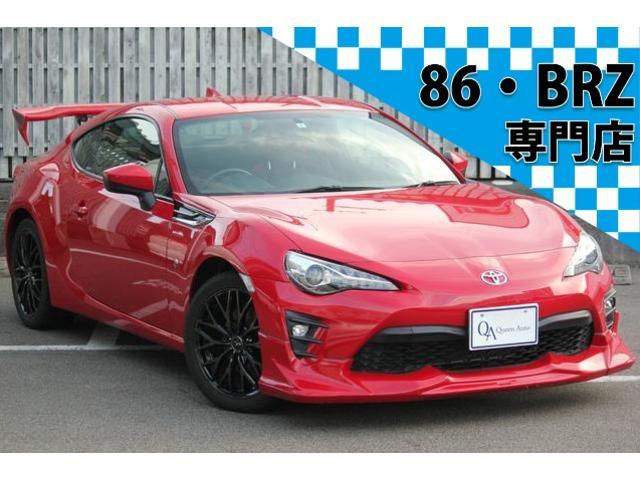 トヨタ 86 GT 純正ナビ TV  ロッソマフラー  HKSエアクリ 社外ウイング 1オーナー