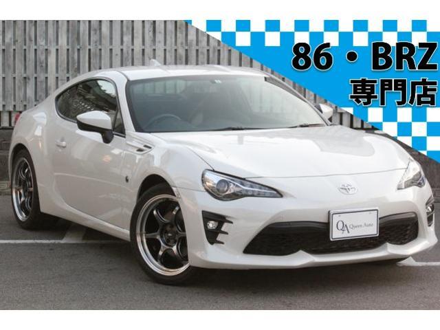 トヨタ GT 6速MT 1オーナー 純正SDナビ TV Bカメラ アドバン18インチアルミ