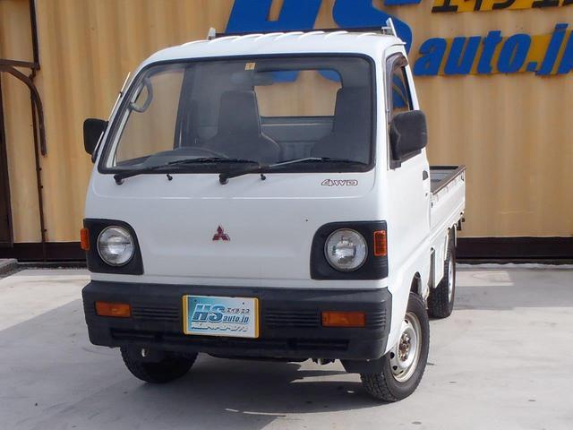 三菱 TD 4WD 4速MT スタッドレスタイヤ