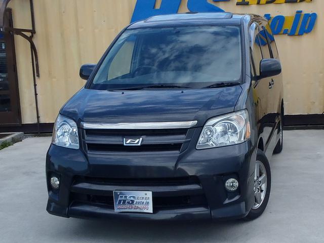 トヨタ ノア S 切替式4WD Wサンルーフ ナビ TV バックカメラ ETC 4ナンバー貨物登録 定員5人