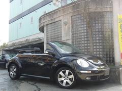 VW ニュービートルカブリオレLZ 本革シート HDDナビ TV 純正アルミホイール